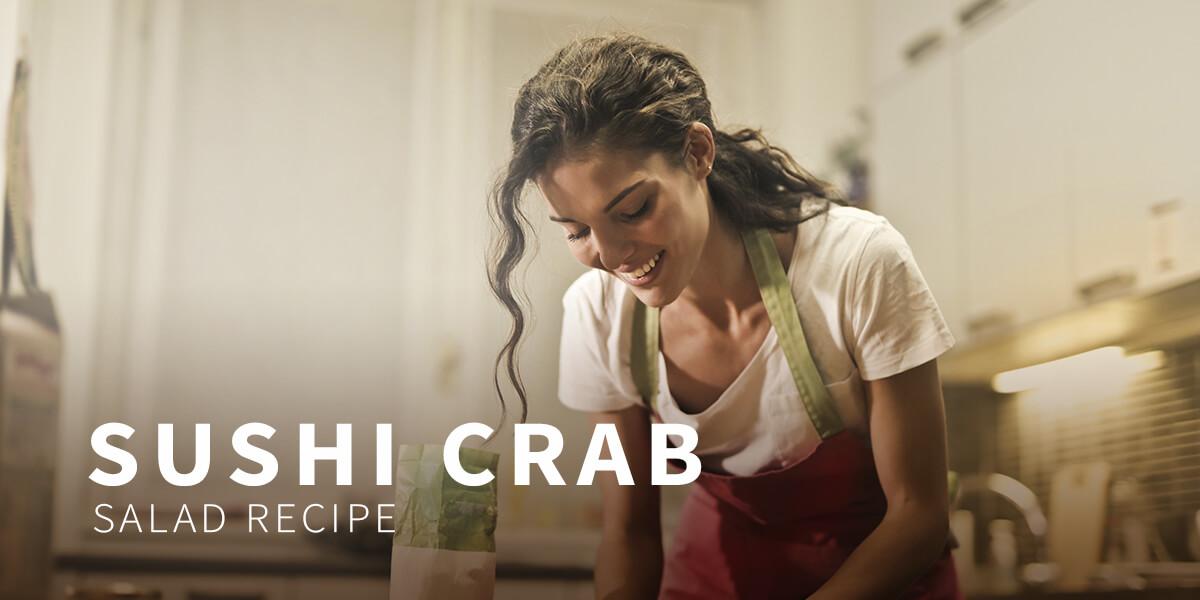 Sushi crab salad recipe